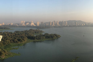 12-02-17 - Vista from Renaissance Lounge in Powai